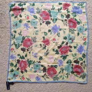 Ralph Lauren floral 100% silk scarf